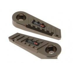 NOSILCI ZA NOGE - SSP EVO CNC-style, MBK Booster / Yamaha BWs, titan
