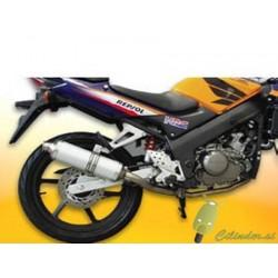 Izpuh Malossi, Honda CBR 125cc 4-T, z homologacijo