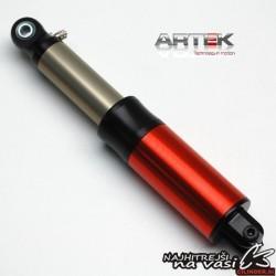 Amortizer, zadnji -ARTEK K1, 280mm, rdeč - Yamaha, Peugeot, Aprilia, Beta,
