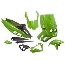 BODY KIT -STR8 MALAGUTI F12 - 9 delni - Zelena