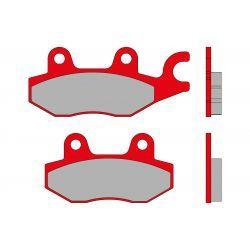 Zavorne ploščice - MALOSSI MHR, S51, 97x41x9,0 mm 77x41x9,0mm, e-pass
