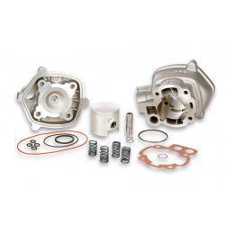 CILINDERKIT - MALOSSI MHR 79cc za MINARELLI AM6 50cc 2 -t LC Ø 50,0mm, aluminium, 1 batni obroček,pin 12mm, z glavo cilindra
