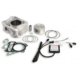 CILINDERKIT - MALOSSI 187cc vklj. injection module za Vespa LX i.e./LXV i.e./S i.e. 125ccm, Leader 125cc 4-t AC i.e. Ø 70mm,