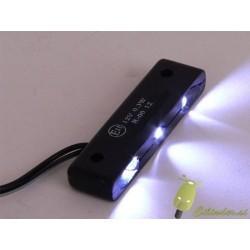 Led svetilo -bgm- 3-LED, črno telo