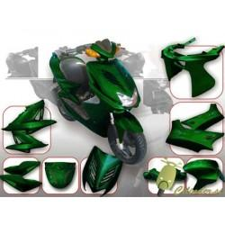 Body kit -DMP- Yamaha Aerox - metalno zelen