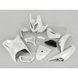 Body kit -DMP- Aprilia SR (od 1998) - metalno bela