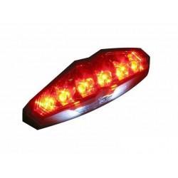 LUČ -KOSO DIGITAL INFINITY- z osvetlitvijo tablice (rdeča)
