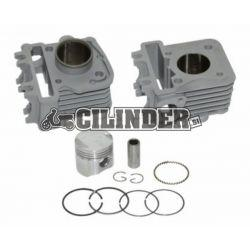 CLINDERKIT - DMP 50cc 39mm - Piaggio Zip 4t 2v 50cc