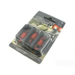 VZMETI SKLOPKE - za Stage6 Torque Control sklopko, 3 kos, rdeč - trda