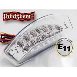 Zadnja luč BGM Bidizem -LED- COLORLESS (e)- Malaguti F12 Phantom