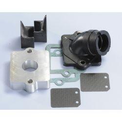 Sesalno koleno - POLINI Evolution za PEUGEOT Ludix /Blaster/JetForce notranji premer: 19mm