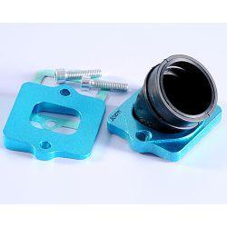 Sesalno koleno - POLINI 360 - DELLORTO PWK 24/26/28/30/PHBH -VHST 26/28/30 za GILERA/PIAGGIO notranji/zunanji premer: 30mm/35mm