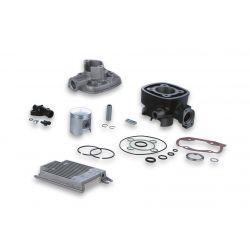 CILINDERKIT - MALOSSI 68cc for PEUGEOT horizontal TSDI 50cc 2t LC Ø 47,0mm, cast iron, 2 batna obročka, zatič 12mm, brez gla