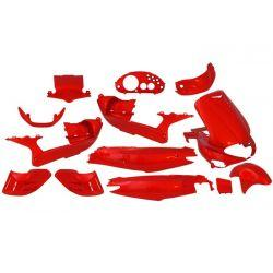 Body kit - EDGE - 15 delni - Gilera runner - rdeč
