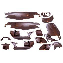 Body kit - EDGE - 15 delni - Gilera runner - rjav
