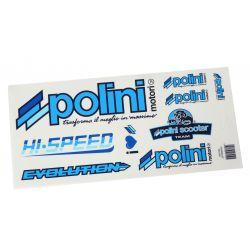 NALEPKA SET -POLINI- Dreambike 170x297mm