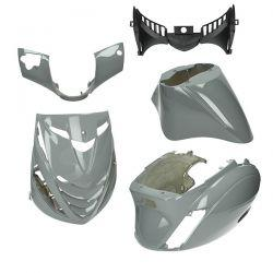 BODY KIT - DMP SP - Piaggio ZIP 2000 / Nardo Siva (5 delni)
