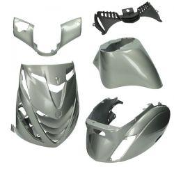 BODY KIT - DMP - Piaggio ZIP 2000 / Antracit (5 delni)