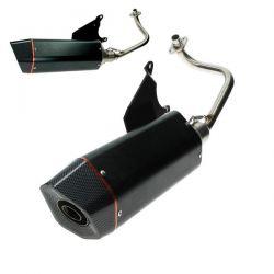 Izpuh -Bullet Racing - Piaggio 50cc 4T E2