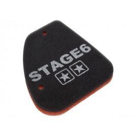 VLOŽEK ZRAČNEGA FILTRA - Stage6 Double-Layer, Peugeot vertikal (Peugeot Spe
