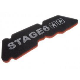 VLOŽEK ZRAČNEGA FILTRA - Stage6 Double-Layer, Piaggio long (letnik 1998 in