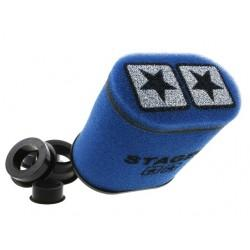 ZRAČNI FILTER RACING - Stage6 Double Layer BIG, Airbox modra, 28mm + 35mm +