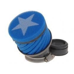 ZRAČNI FILTER RACING - Stage6, kratek, modra, Mikuni - 44mm priključek