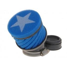 ZRAČNI FILTER RACING - Stage6, kratek, modra, Keihin - 48mm priključek
