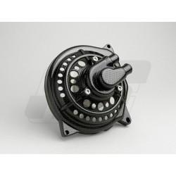 Ohišje vodne črpalke -RACE- Minarelli 50cc - svetel karbon