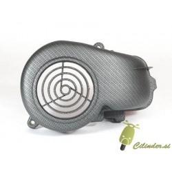 Pokrov veternice -NEW CARBON STYLE- Minarelli 50cc horizontal AC