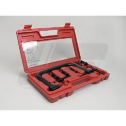 SET ZA STISKANJE VZMETI -BGM ORIGINAL- 5 adapterjev (14,5-16mm/16,5-19mm/21