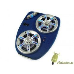 Plošča z zvočniki -SCOOTER DELUXE Soundmaster- Yamaha Aerox -modra