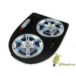 Plošča z zvočniki -SCOOTER DELUXE Soundmaster- Peugeot Speedfight - črna