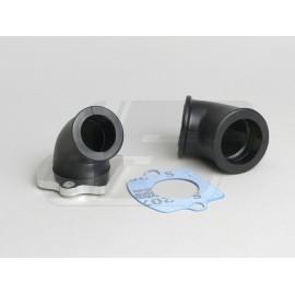 SESALNO KOLENO -BGM PRO Twist - Piaggio 50cc - priključek = 23+32mm