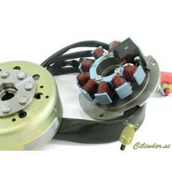 Navitje + magnet za piaggio/gilera 2T agregate (vodno hlajenje)