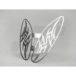 Pokrov hladilnika -LENNES tribal design- Yamaha Aerox