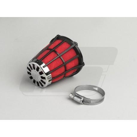 ZRAČNI FILTER - MALOSSI E5 - priključek=32mm - črna/rdeča