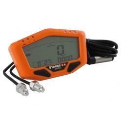 MERILNIK HITROSTI - Stage6 oranžna , digitalni prikazovalnik, hitrost/odo/v