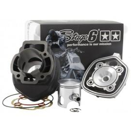 CILINDERKIT - Stage6 STREETRACE 70cc, cast, d=47mm, Piaggio LC