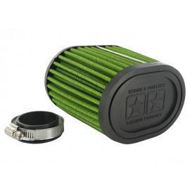ZRAČNI FILTER RACING - Stage6 DragRace, 44mm + 49mm priključek, zelena