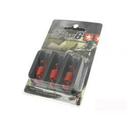 VZMETI SKLOPKE - za Stage6 Torque Control sklopko, 3 pieces, oranžna – sre