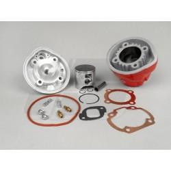 CILINDER KIT -AIRSAL 88cc Racing X-treme (45,0mm hod)- Minarelli LC