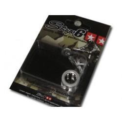 IGLIČNI LEŽAJ - Stage6 High Quality, srebrna, 12mm (12x17x15mm), Piaggio, M