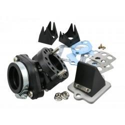 SESALNI SISTEM - Motoforce RACING, vsebuje lamelni ventil, 360° vrtljiv, Pi