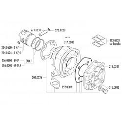 CILINDERKIT - POLINI 70cc Sport - Minarelli LC
