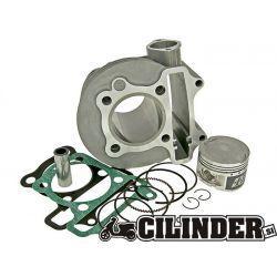 CILINDERKIT - TNT - KYMCO GY6 125 4T - BAT 52.4mm - ALU