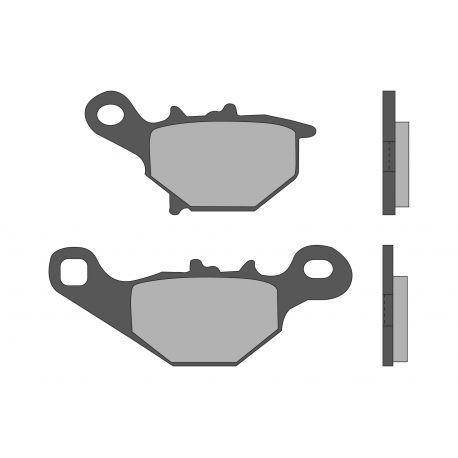 Zavorne ploščice - MALOSSI Sport, S47, 99,5x40x7,5 mm 76x41,5x8,2mm, with e-pass, e24 mark