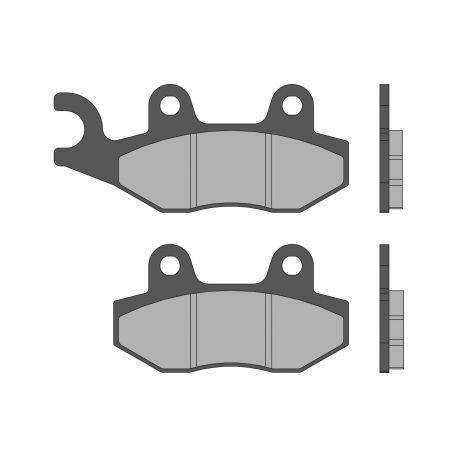 Zavorne ploščice - MALOSSI Sport, S72, 77,4x42,3x9,0 mm 98,8x42,3x9,0mm, with e-pass, e24 mark