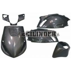 BODY KIT -DMP SP- Piaggio ZIP 2000/ Antracitna (5 delni set)