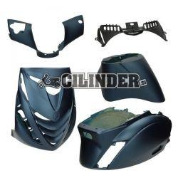 BODY KIT -DMP SP- Piaggio ZIP 2000/ Temno modra mat (5 delni set)